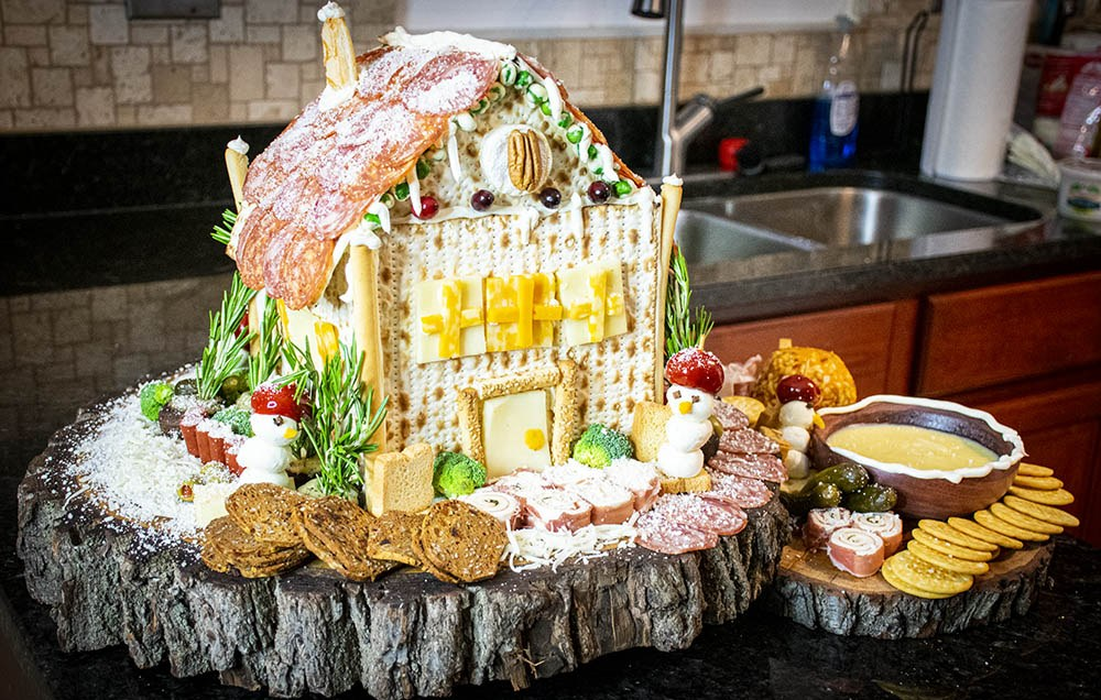 gingerbread cheese house