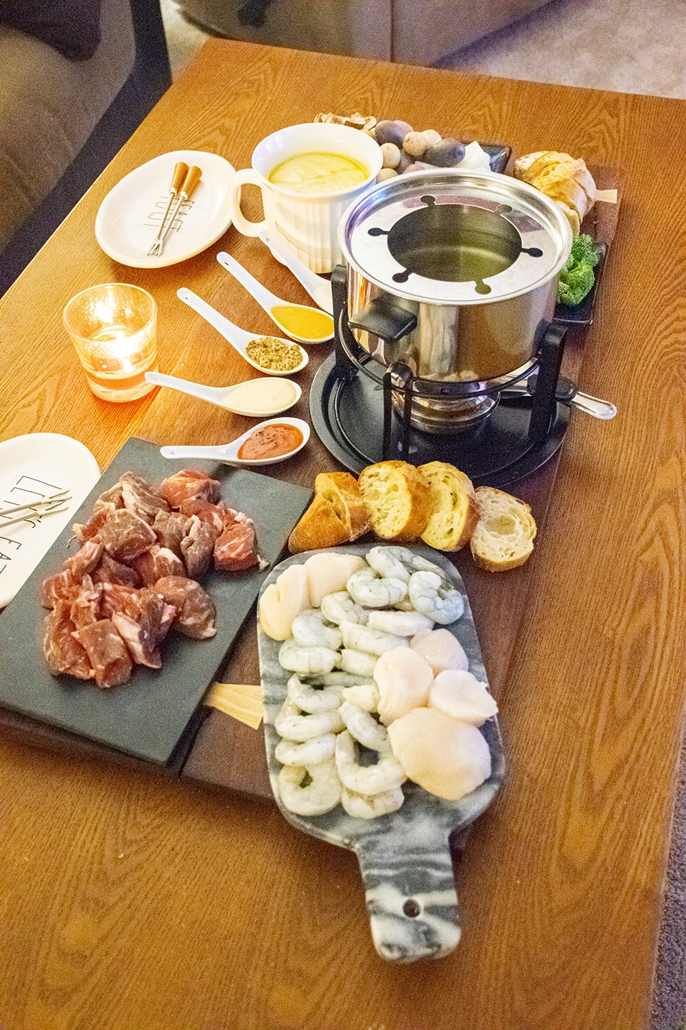fondue night for two