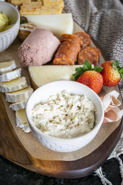 tuna salad charcuterie