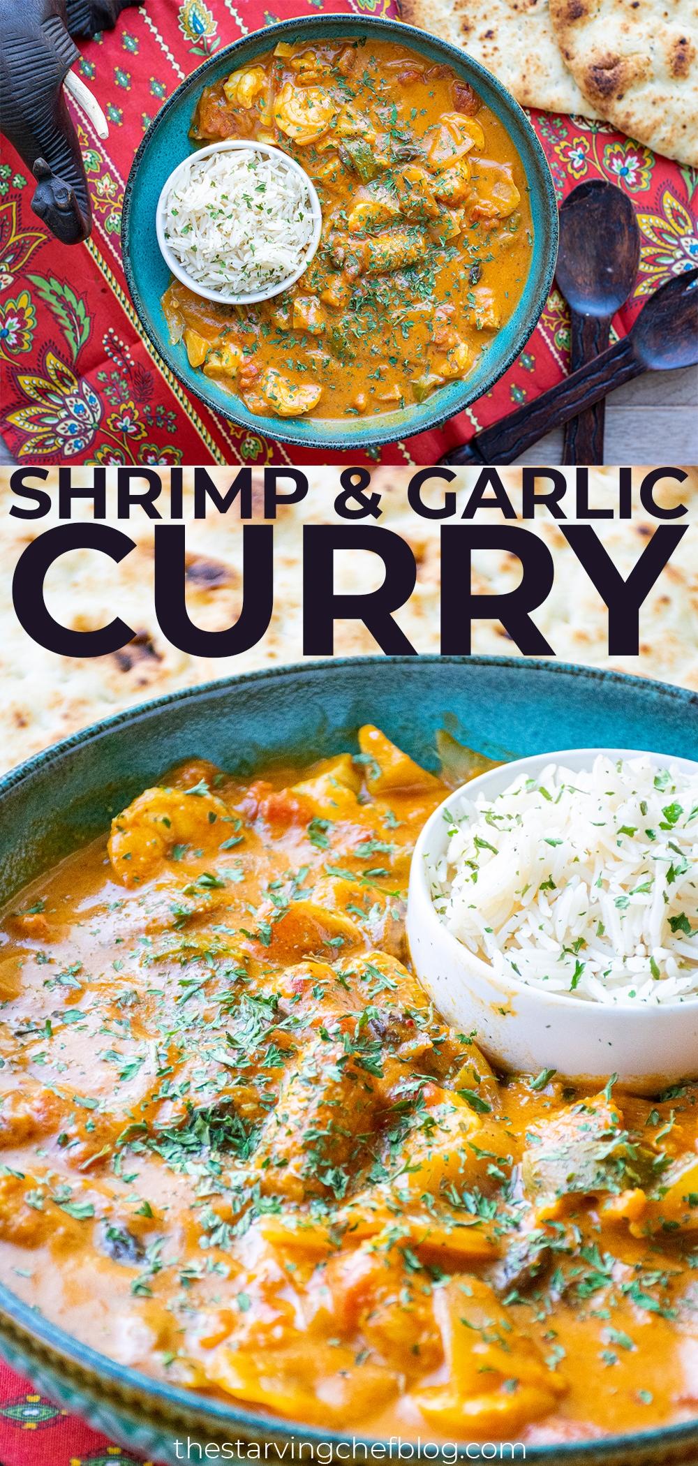 shrimp garlic curry