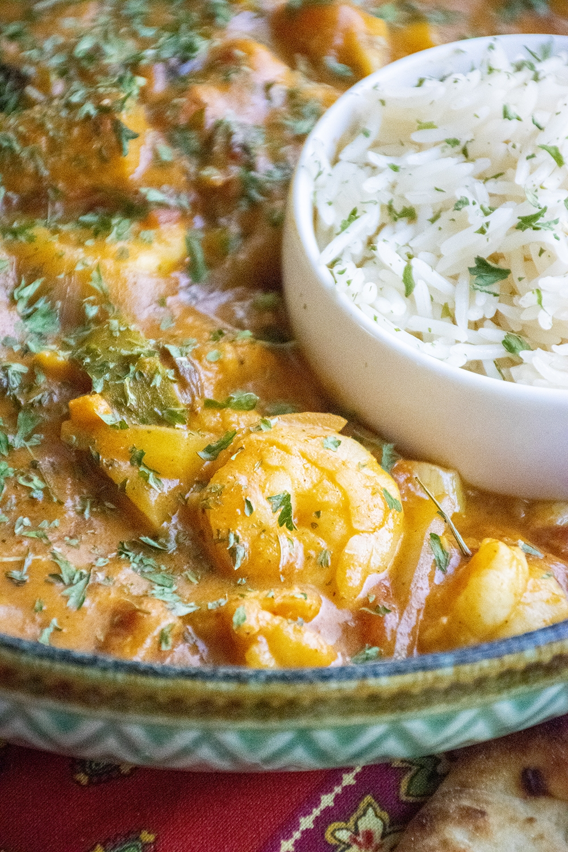 shrimp thai curry