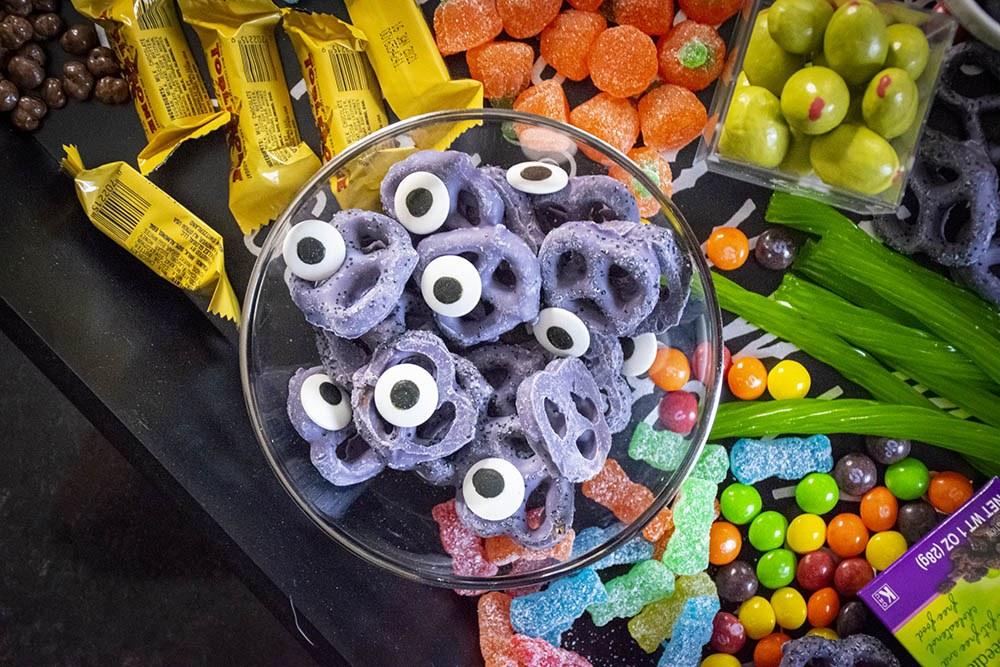 charcuterie halloween candy