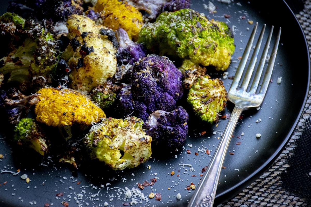 air fryer baked cauliflower