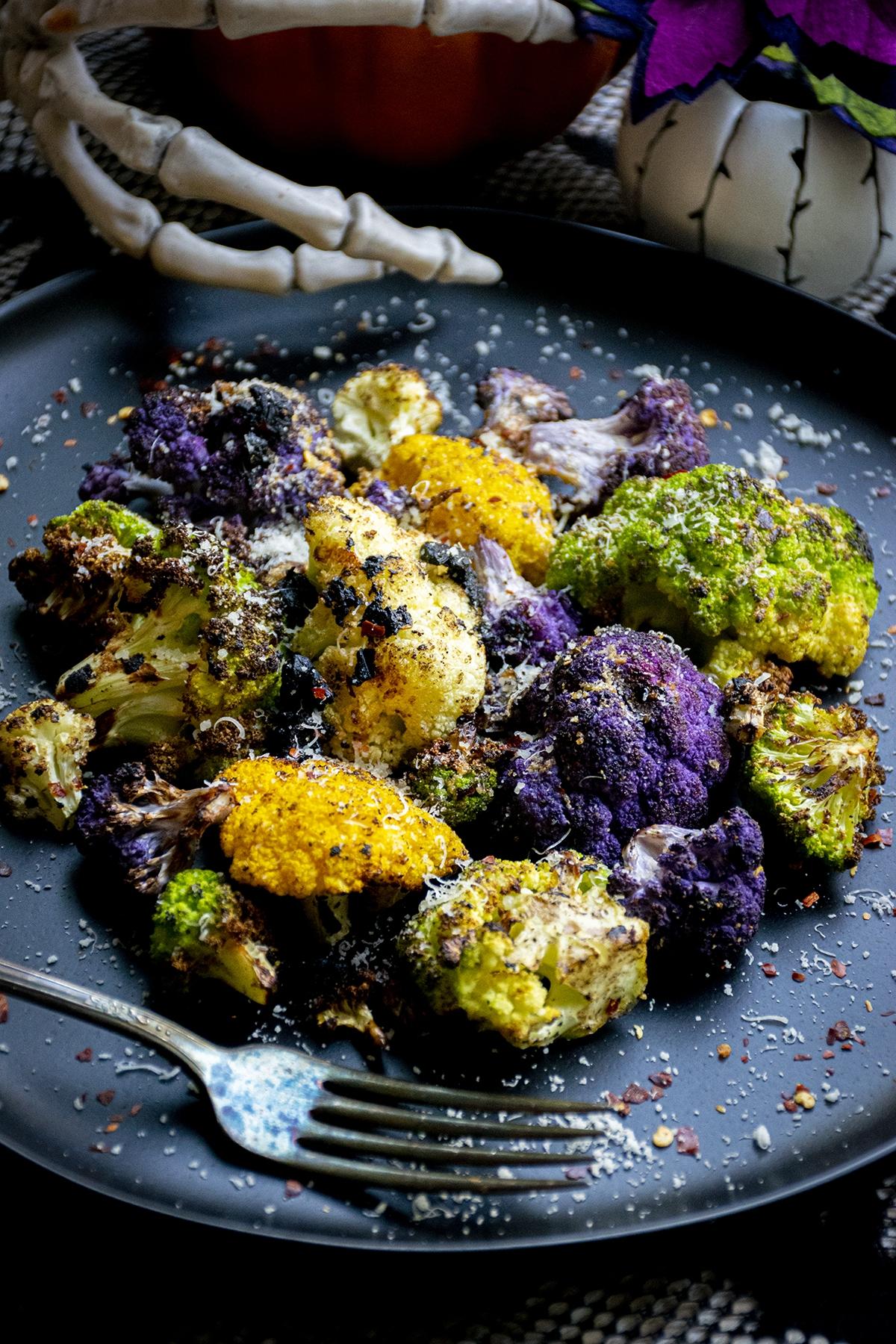 halloween cauliflower recipe