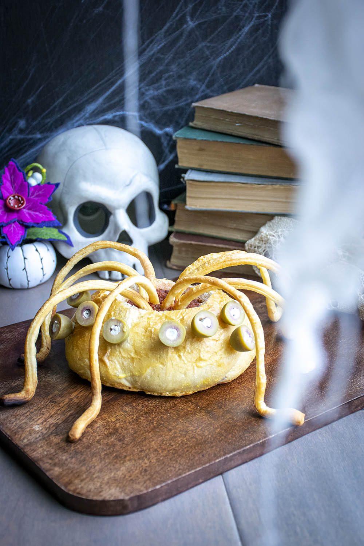 spider halloween dip