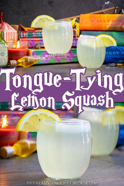 harry potter tongue tying lemon squash
