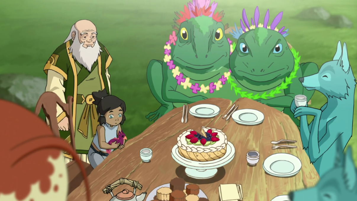 Uncle Iroh's Spirit Cake | Spirit World | Legend of Korra Recipes