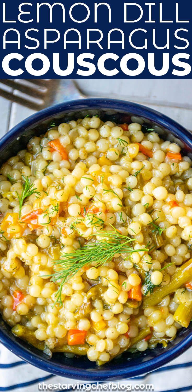 lemon asparagus couscous