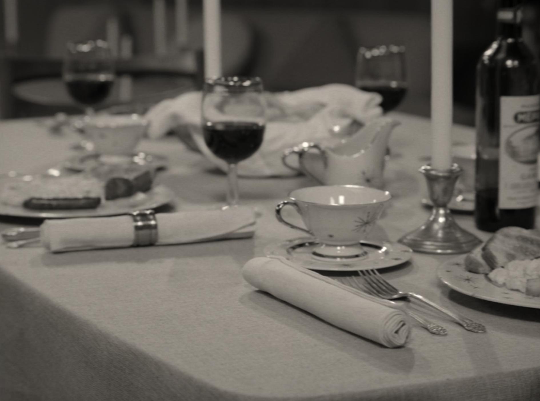 1950s supper