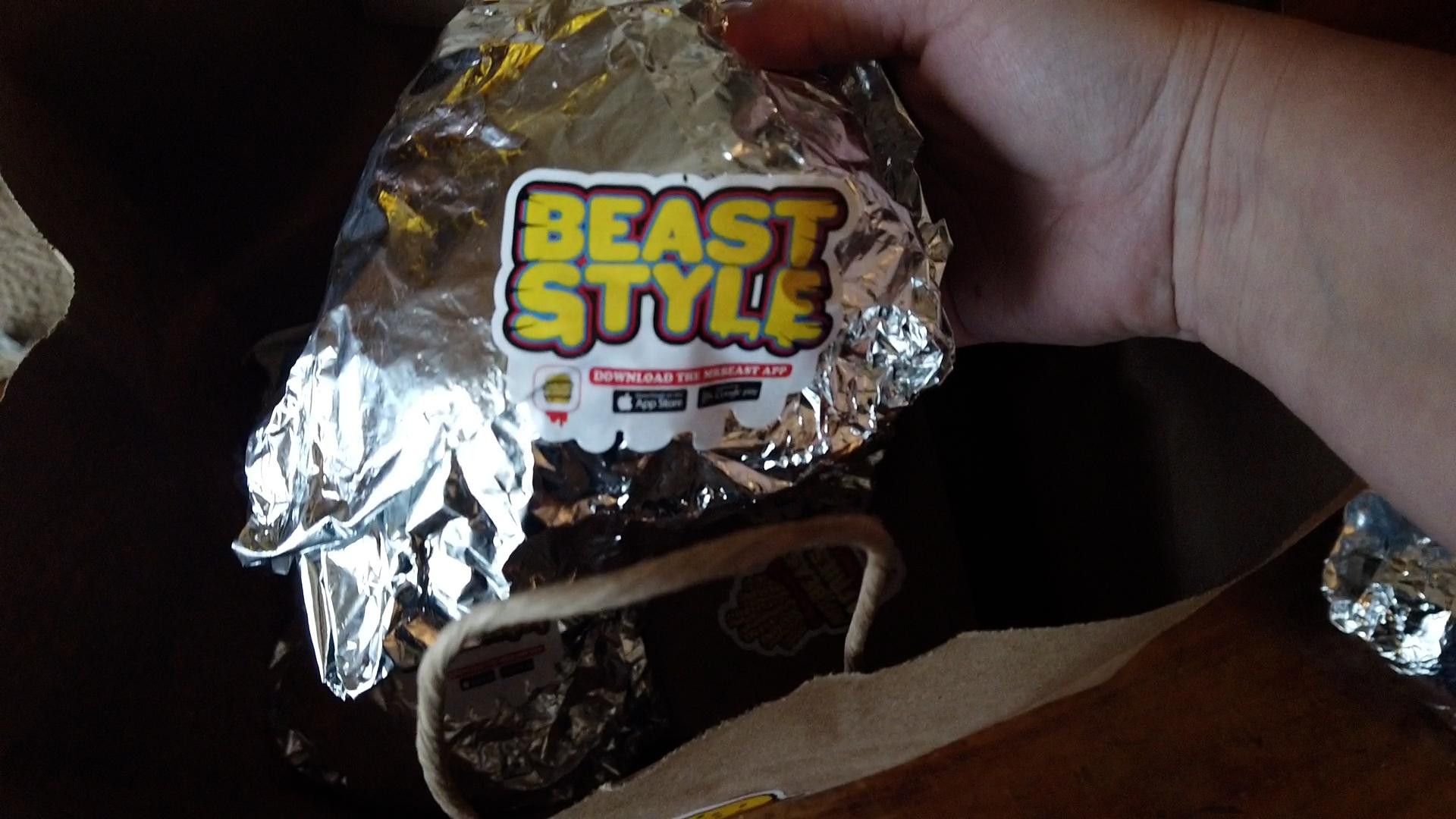 beast style burger