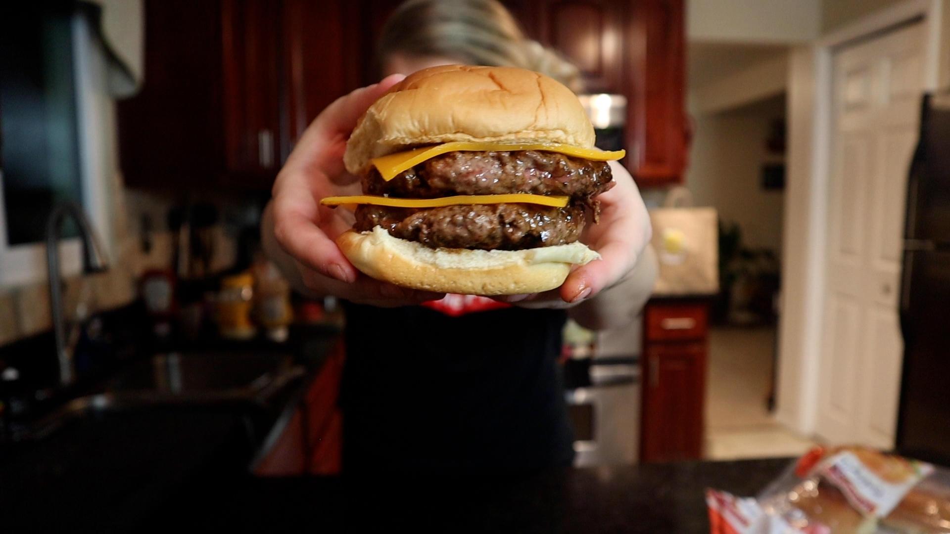 chandler style diy burger