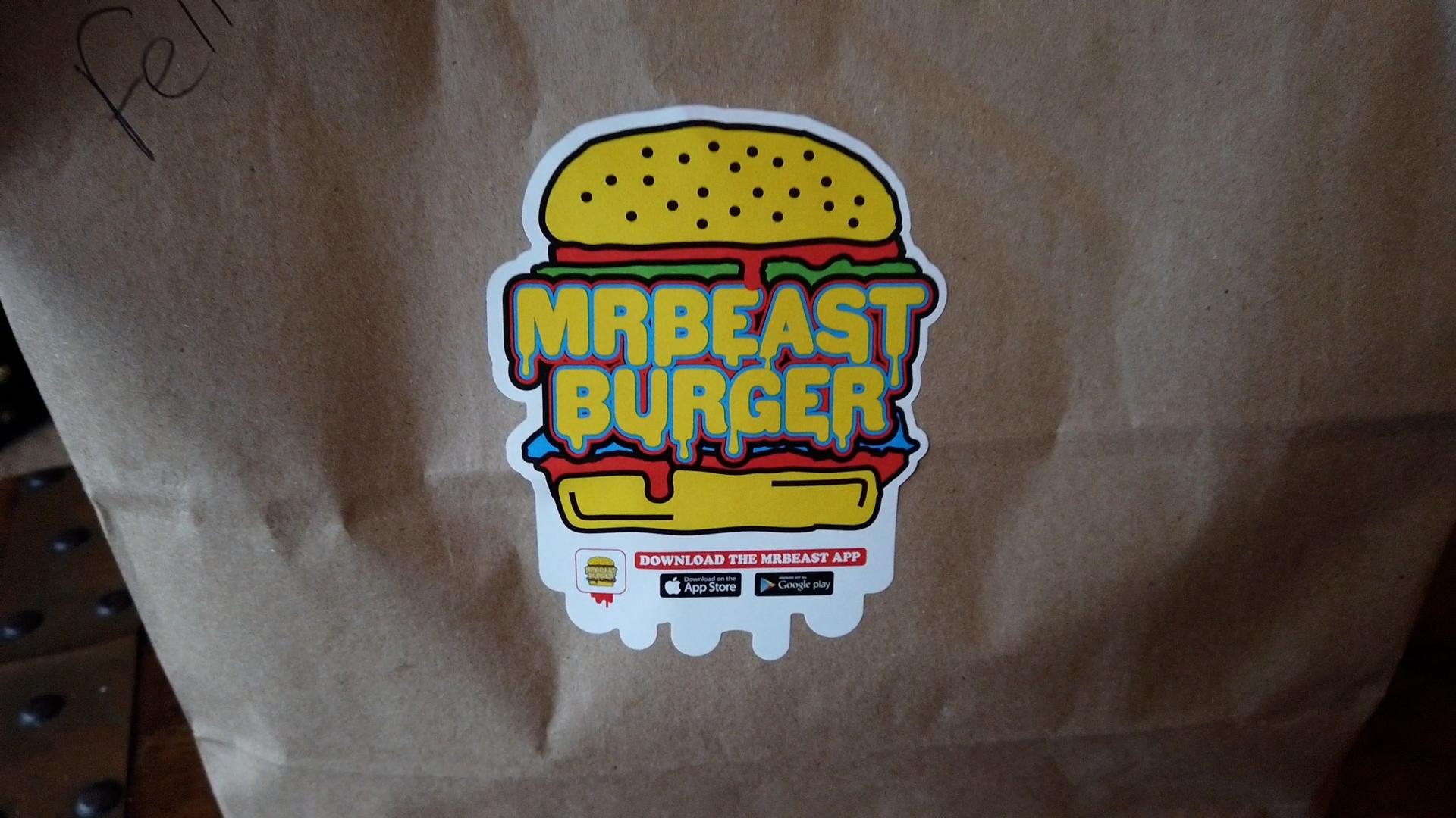 mrbeast burger order