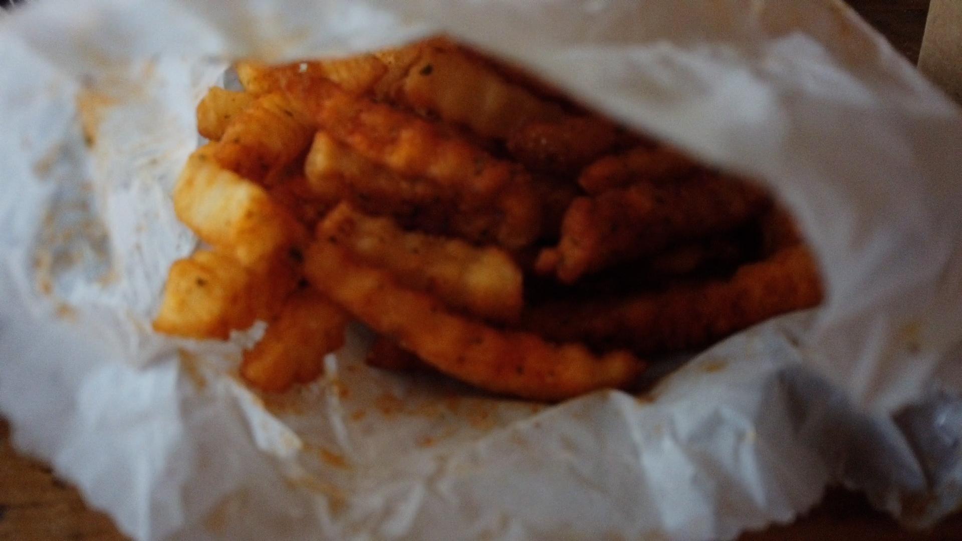 seasoned crinkle fries mrbeast