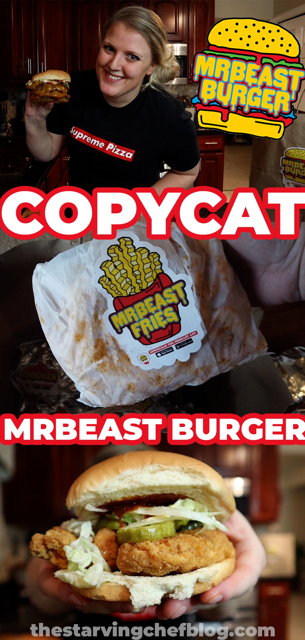 mrbeast copycat menu