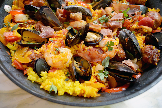 Land sea paella the starving chef blog and then just stare at your masterpiece for a while in awe of the deliciousness you are about to consume forumfinder Images