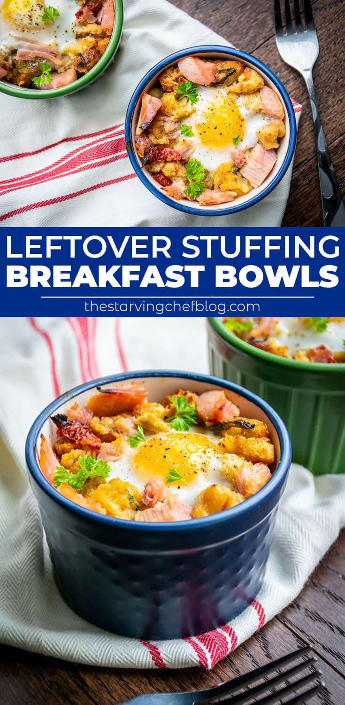 easy stuffing breakfast bowls