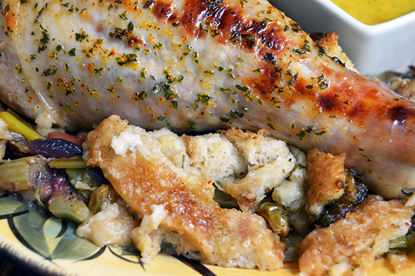 how to make easy turkey stuffing