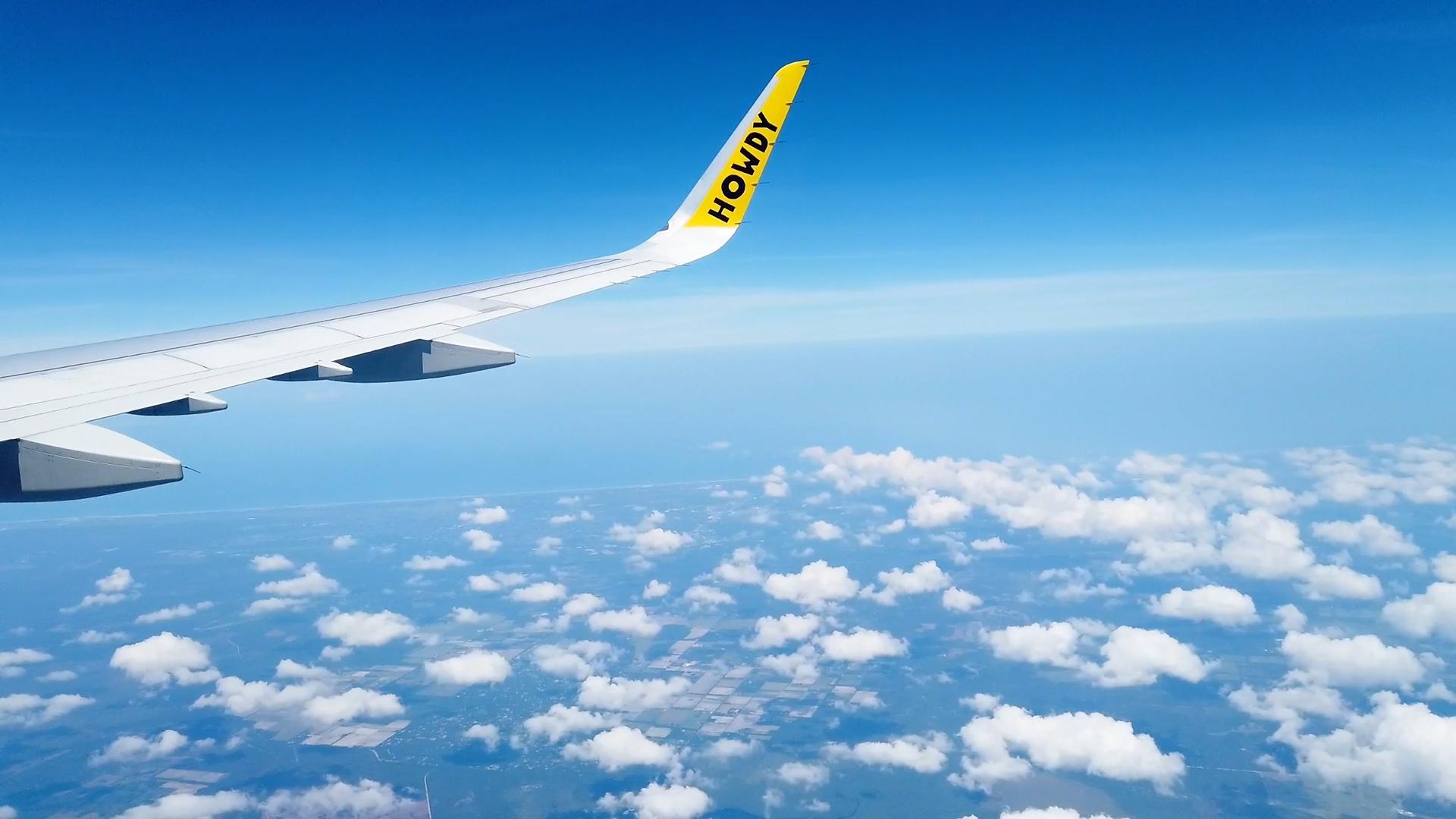 plane ride photo