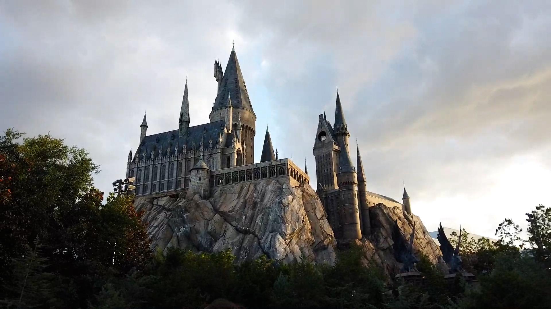 sunset hogwarts
