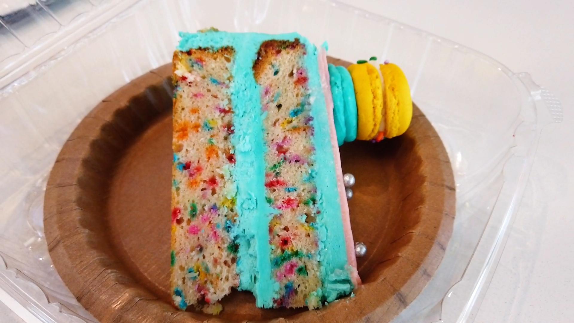 birthday macron cake