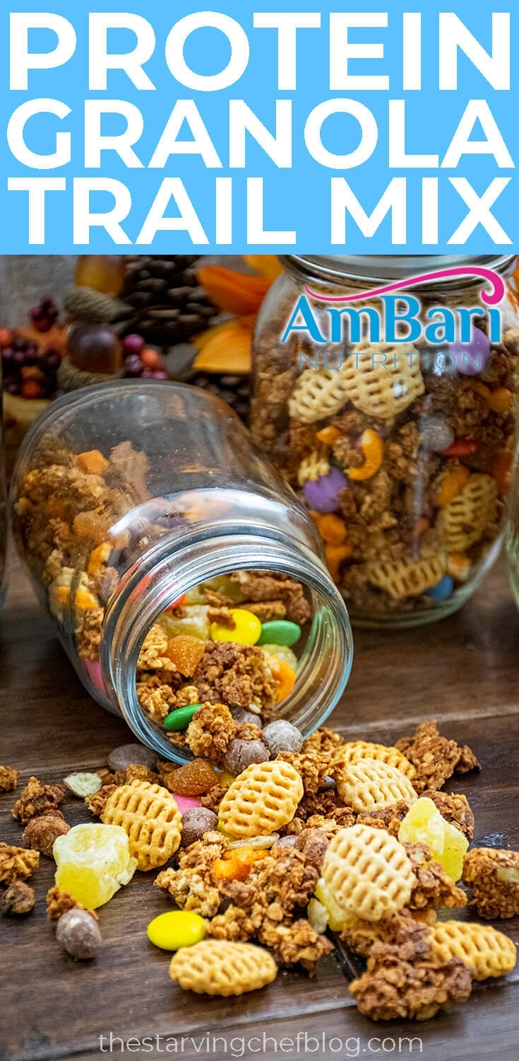 Protein Granola Trail Mix