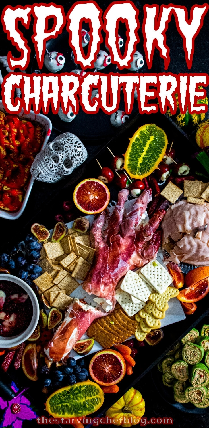 Spooky Charcuterie | Halloween Recipes