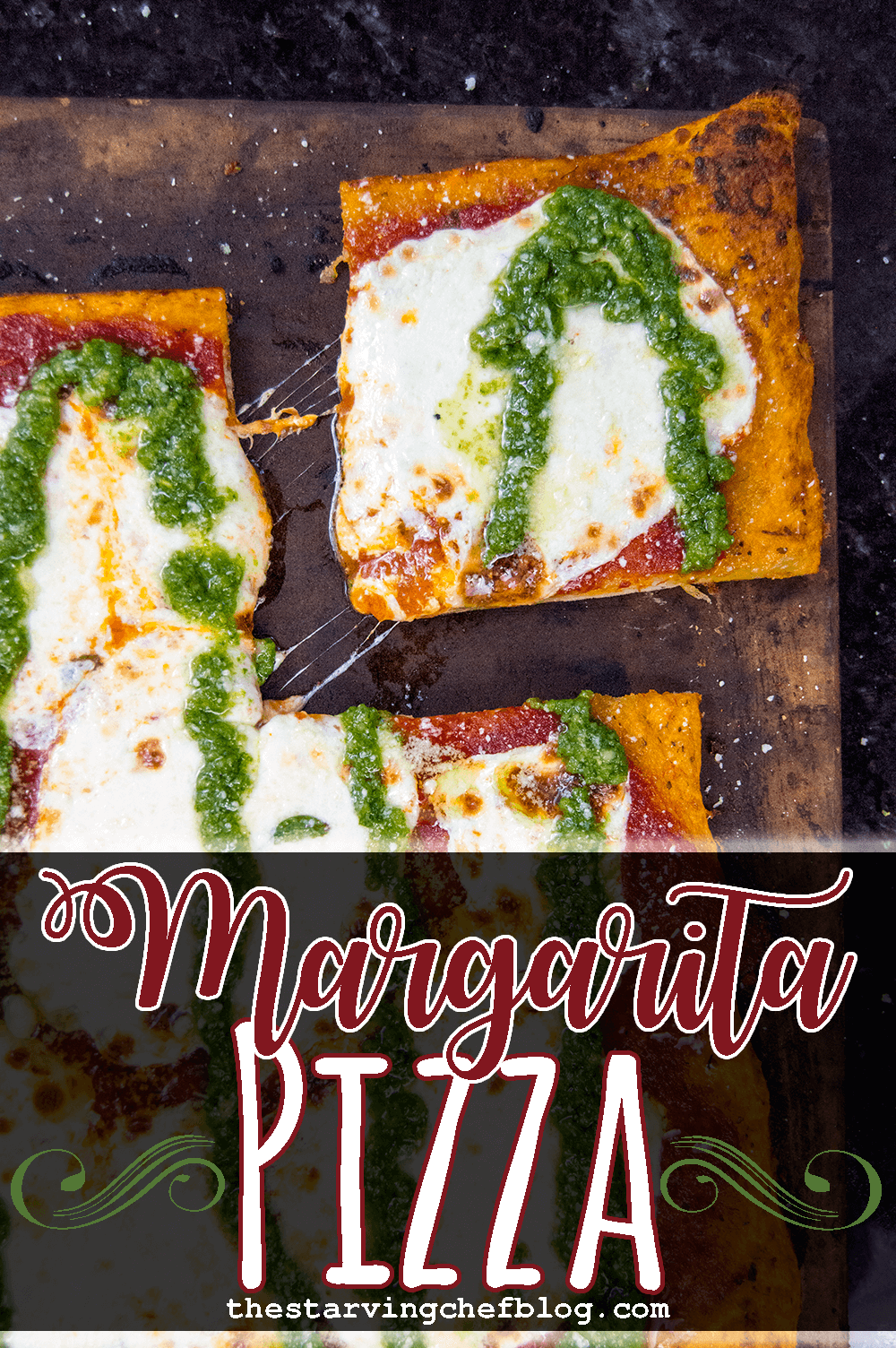 Margarita Pizza with Homemade Pizza Sauce