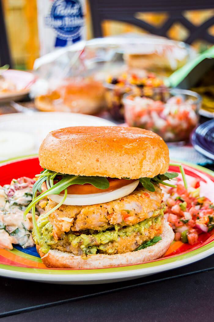 Beer Brined Shrimp Burgers | Whole Foods Market 365