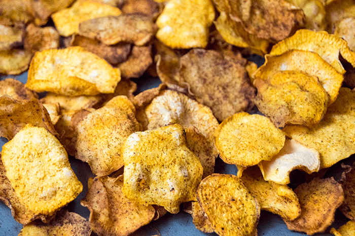 Cinnamon Sweet Potato Chips | Dehydrator Recipes