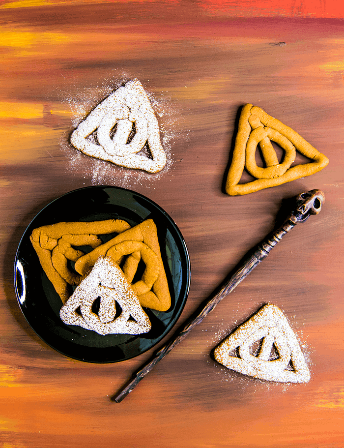 Deathly Hallows Cookies | Harry Potter Recipes