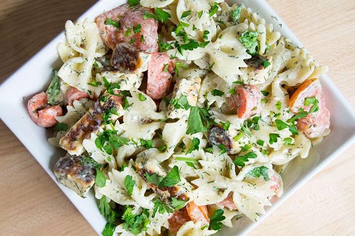 Dill Pickle Pasta Salad | What's in My Fridge Door?