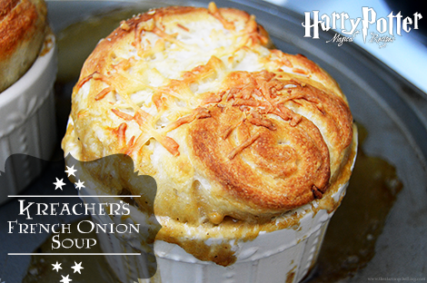 Kreacher's French Onion Soup | Harry Potter Recipes