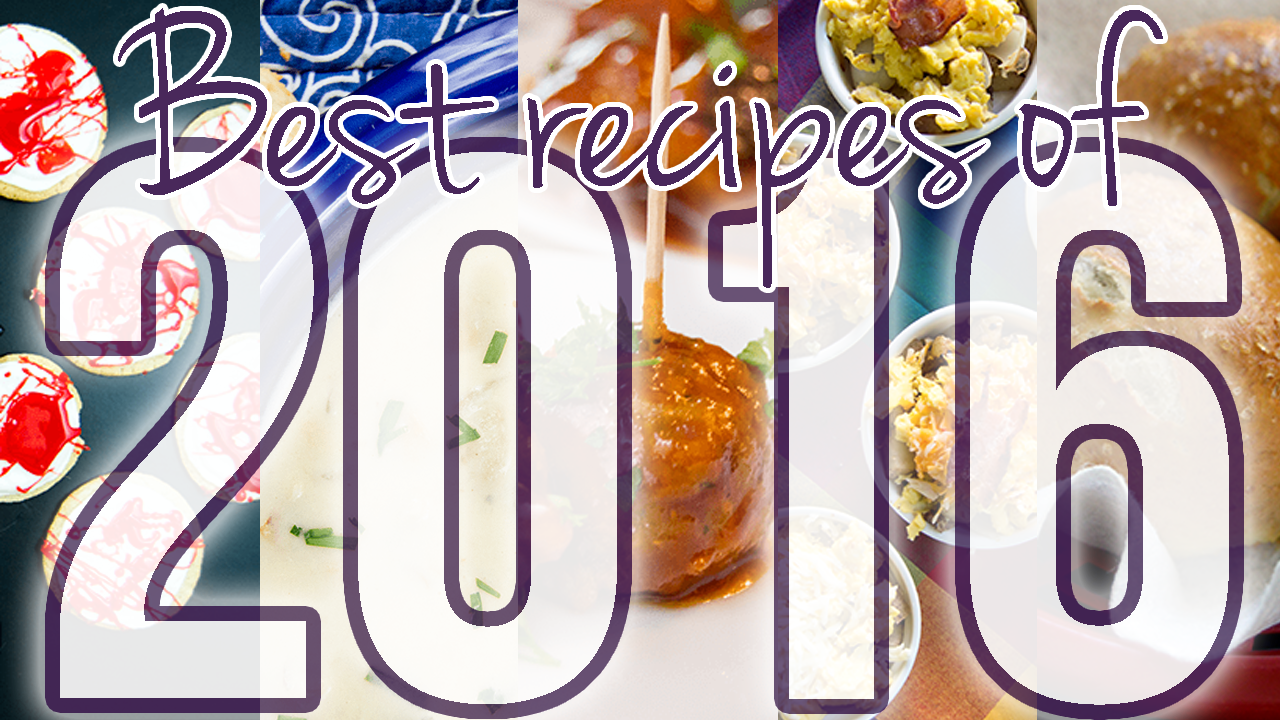 Best Recipes of 2016 | The Starving Chef