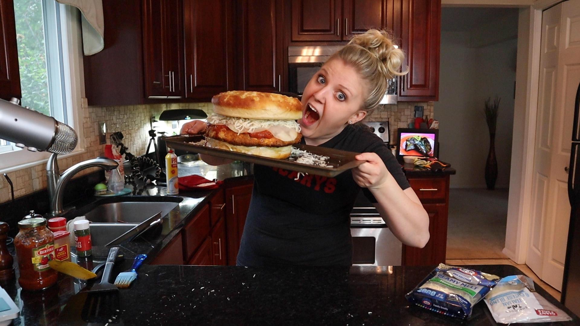 GIANT Chicken Parmesan Sandwich