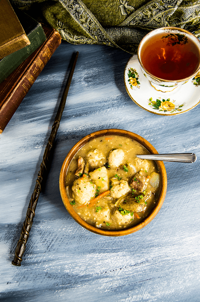 House Elf Beef & Dumpling Stew | Harry Potter Recipes