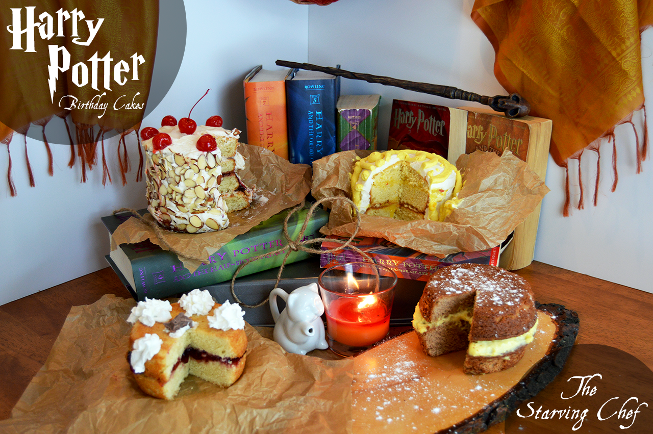 Harry Potter Birthday Cakes | Two Ways | Week 06