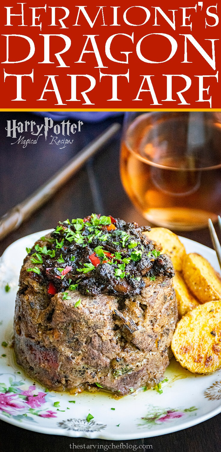 Hermione's Dragon Tartare   Harry Potter Magical Recipes