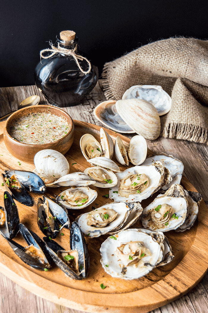 Oysters, Clams & Cockles | Game of Thrones Recipes
