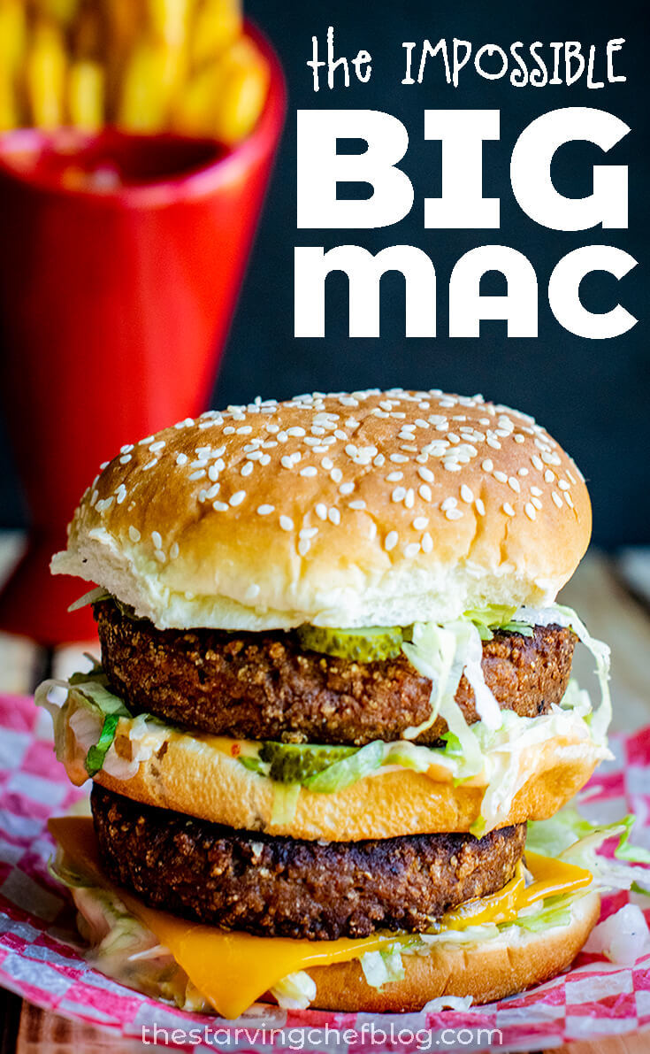Faux Big Mac Recipe (with Beyond Meat!)