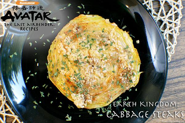 Cabbage Steak | Avatar: The Last Airbender Recipes