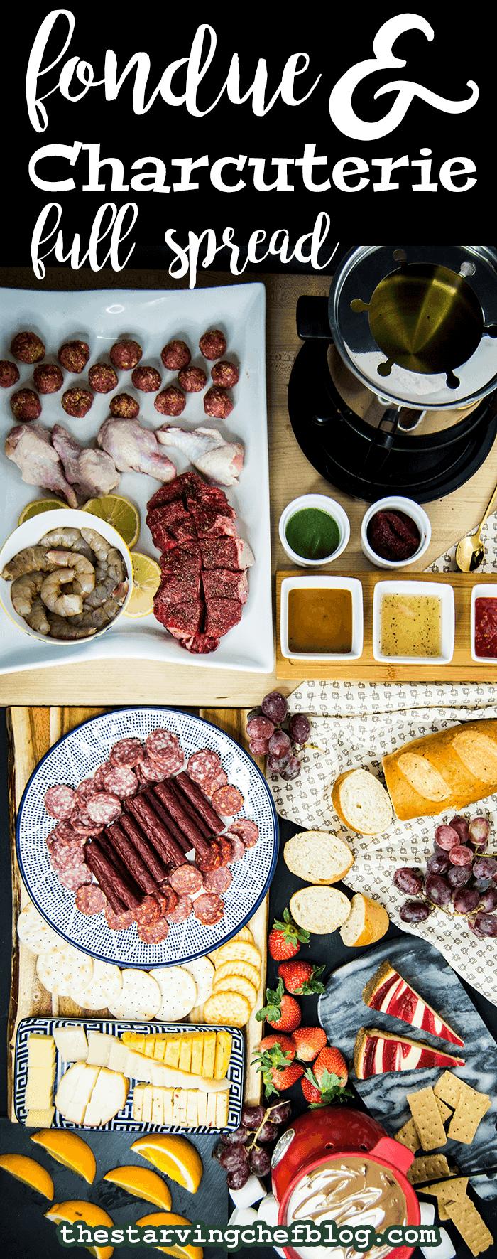 Fondue & Charcuterie Night | NYE Recipes
