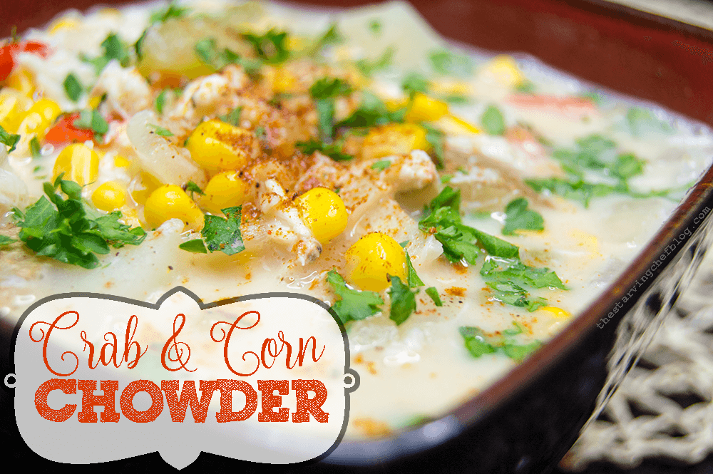 Crock Pot Crab Corn Chowder The Starving Chef
