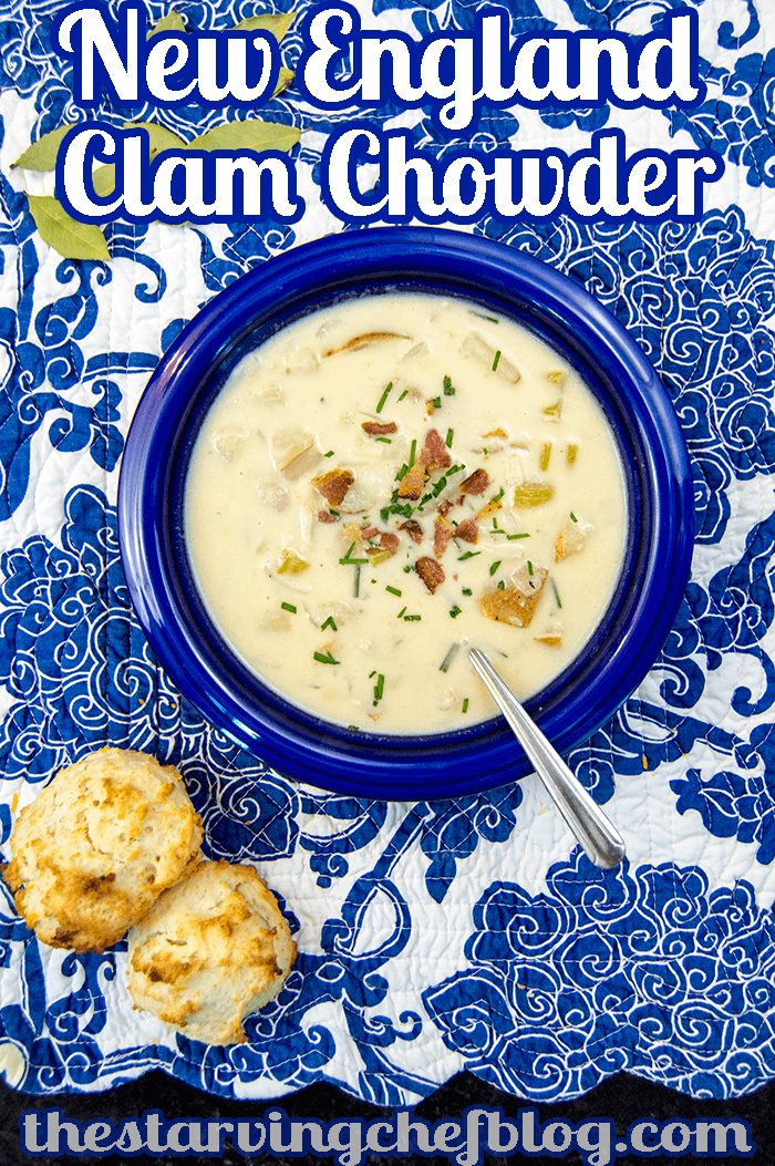 One Pot New England Clam Chowder