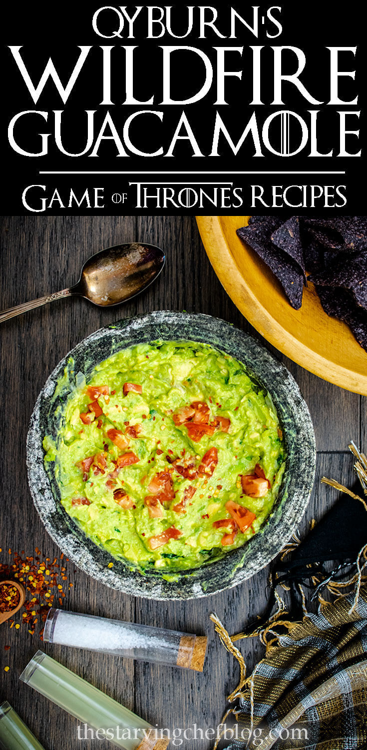 Qyburn's Wildfire Guacamole | Game of Thrones Recipes
