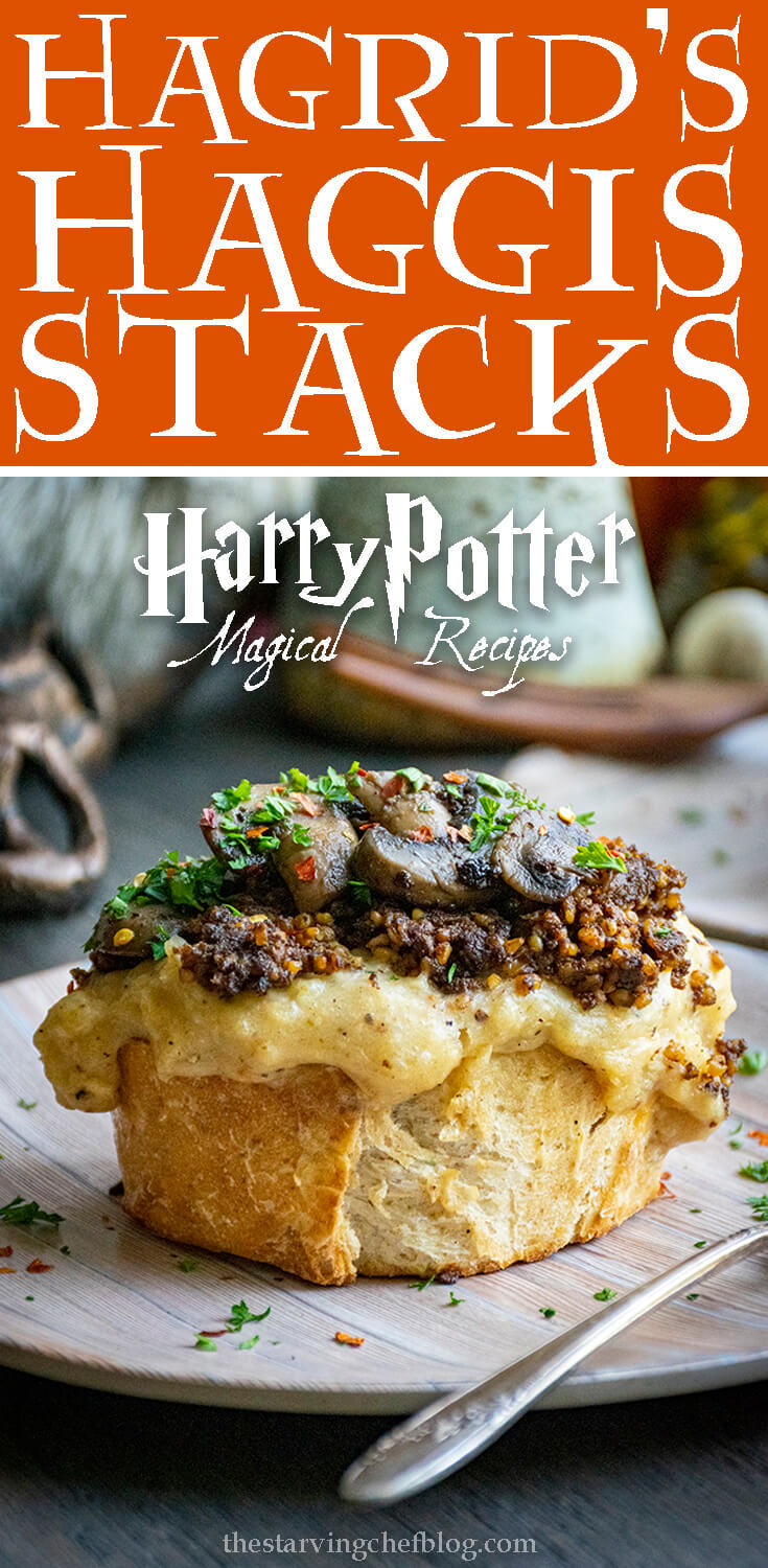 Hagrid's Haggis Stacks | Harry Potter Magical Recipes
