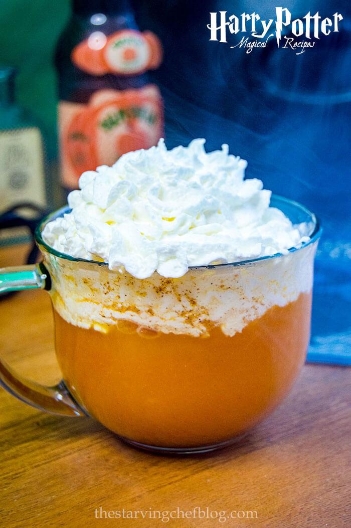 Fizzy Pumpkin Juice | Harry Potter Recipes