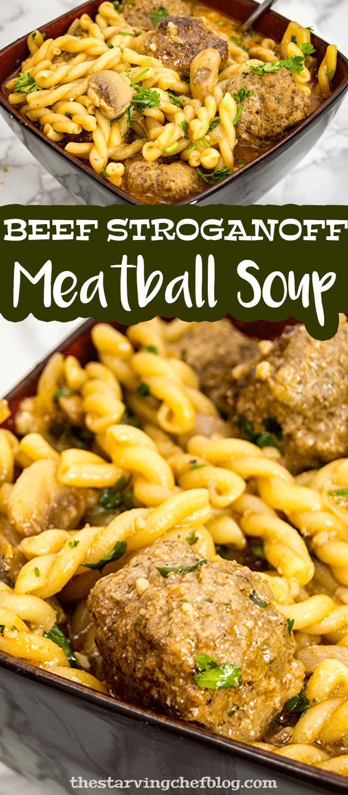 Beef Stroganoff Meatballs | Dutch Oven Recipes