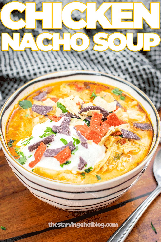 Chicken Nacho Soup