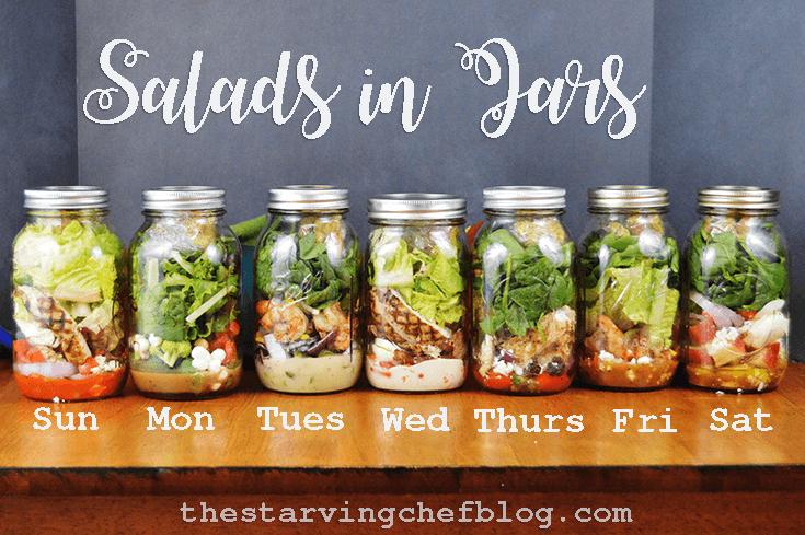 Salads in Jars   Weekly Meal Prep