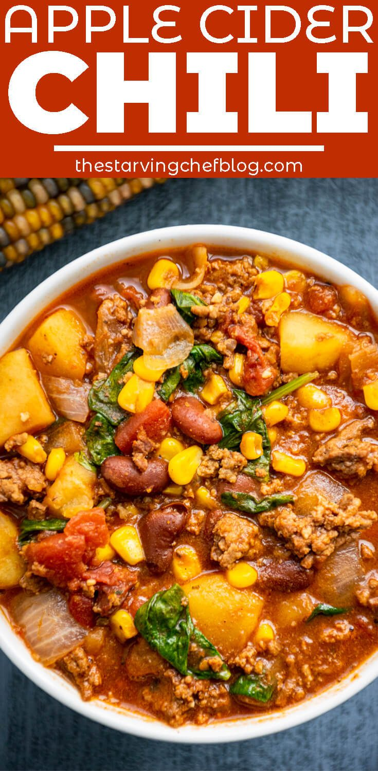 Apple Cider Chili